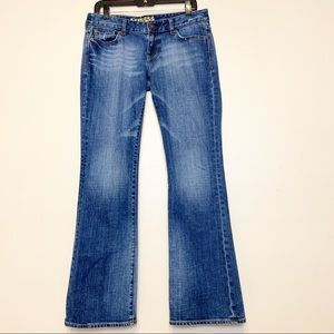 Express Jeans Stella Bootcut Size 6 Mid Rise